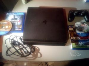 PS4 Slim 1TB + joypad + alimentatore