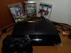 Playstation 3 ultra slim 1TB GTA5 Fifa