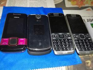 4 cellulari nokia ed lg