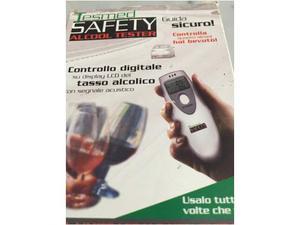 Alcol test - apparecchio misura tasso alcolico - guida