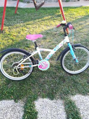 Bicicletta bambina misura 20