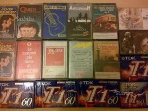 Cassette di musica varie