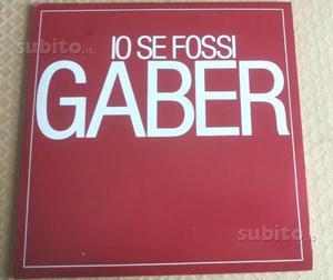 Giorgio Gaber (33 giri raro) - Io se fossi Gaber