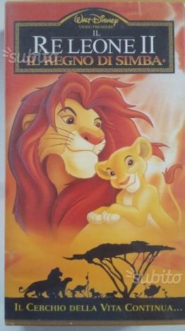 Il Re Leone 2 VHS