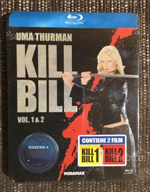 Kill Bill Vol 1&2 Steelbook Blu Ray