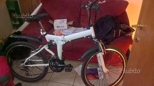 Permuto bici nuova pieghevole mountain bike