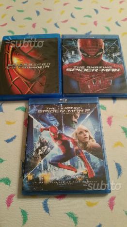Saga spider man in blu ray