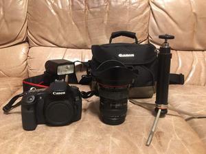 Set Canon 60D,  f/4 L, flash 430EX,