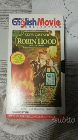VHS Robin Hood, principe dei Ladri in Inglese
