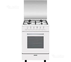 Cucina glem gas a 4 fuochi con forno elettrico posot class - Cucine a gas con forno elettrico ...