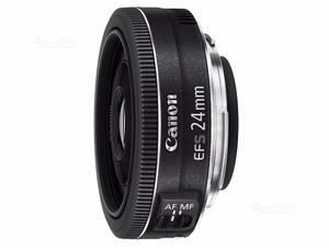 Canon 24mm stm, pancake, f/2.8 + paraluce Canon