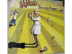 "Genesis ""Nursery Cryme"" 1 gatefold LP Charisma UK"