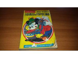 I GIALLI DI TOPOLINO classici di walt disney N.5 DEL 196
