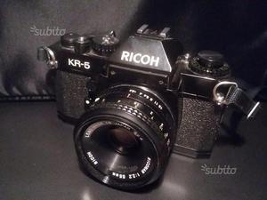Macchina fotografica ricoh kr-5 con obiettivo 55mm