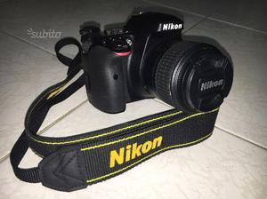 Nikon d vrII Kit+garanzia Nital 4 anni