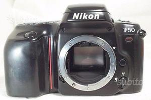 Nikon f 50 analogica