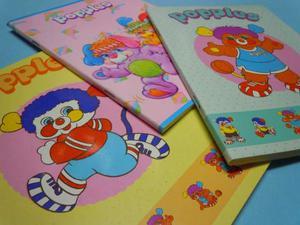 POPPLES lotto 80 materiale di cartoleria AUGURI MONDADORI