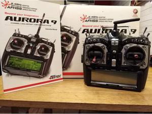 Radiocomando Aurora 9 Hitec TX + Riceventi RX