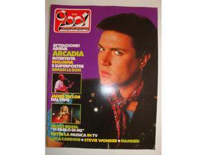 Rivista CIAO  Anno  n.42 Simon le bon-Vasco Rossi
