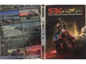 SBK  custodia steelbook