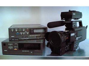 Telecamera, recorder, tuner VHS anni '80
