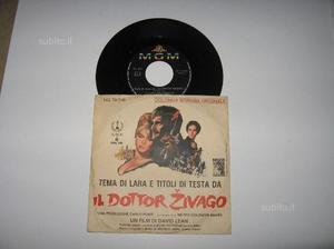 45 giri DOTTOR ZIVAGO colonna sonora Originale