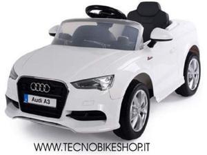 Auto elettrica per bambini Audi A3 12v ufficiale AUDI