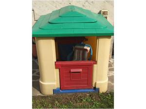 Casetta in legno da giardino per bimbi posot class for Casetta giardino bambini usata