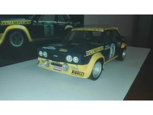Fiat 131 abarth oliofiat scala 1/18 kyosho