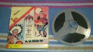 Film su bobina super 8 bianco e nero con sonoro