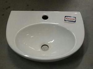 Lavabo in ceramica bianca