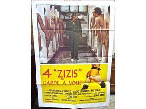 Manifesto cinematografico con Lino Banfi