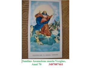 Santino Assunzione maria Vergine, anni 70