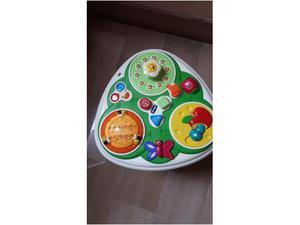 Chicco tavolo da giardino parlante bilingue chicco posot for Tavolo giardino delle parole chicco