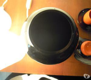 Vaso vetro nero