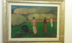 Beppe Guzzi dipinto olio su tela