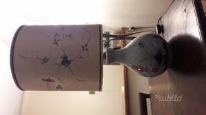 Lampada originale ceramica di faenza