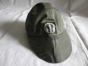 PARACADUTISTI: Raro berretto Uniforme da Combattimento