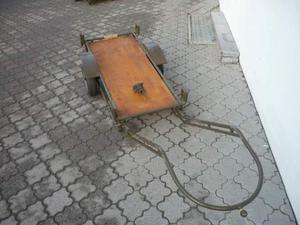 Rimorchio bicicletta militare svizzera