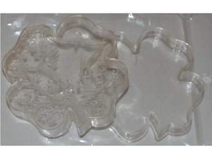 Scatolina in plastica / Bomboniera Vintage anni '40 Stock