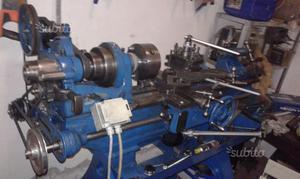 Mini tornio per metalli con variatore e posot class for Tornio usato 220 volt