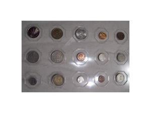 14 vecchie monete straniere (vedi dettaglio)