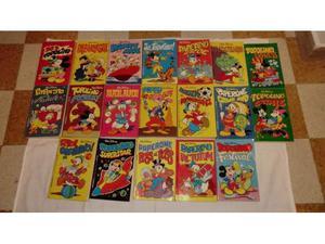 """19 numeri di """"I Classici di Walt Disney"""" anni 81 e 82"""