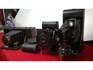 Antiche macchine fotografiche a soffietto Vintage
