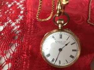 Bellissimo orologio da tasca in oro