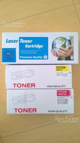 Cartucce stampante Laser