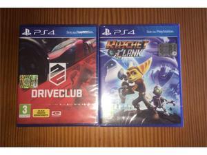 Driveclub, Ratchet&Clank PS4 - NUOVI SIGILLATI