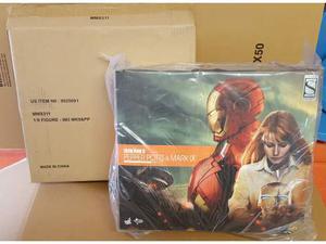 Hot Toys Iron Man 3 Pepper Pots + Mark 9 IX special mms311
