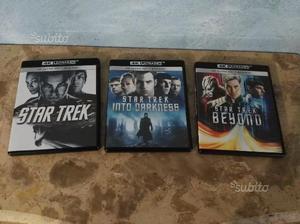 Star trek trilogia 4k ultra HD