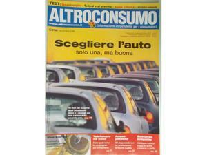 ALTROCONSUMO n.198 Test Auto Vini bianchi Televisori lcd
